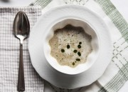 Mushroom Cream Soup & Café de Paris Butter