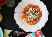 Sweet Potato Noodles With Tahini