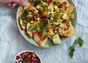 Baked Tortilla Chips with Pico de Gallo