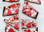 Valentine's Candy Chocolate Bark