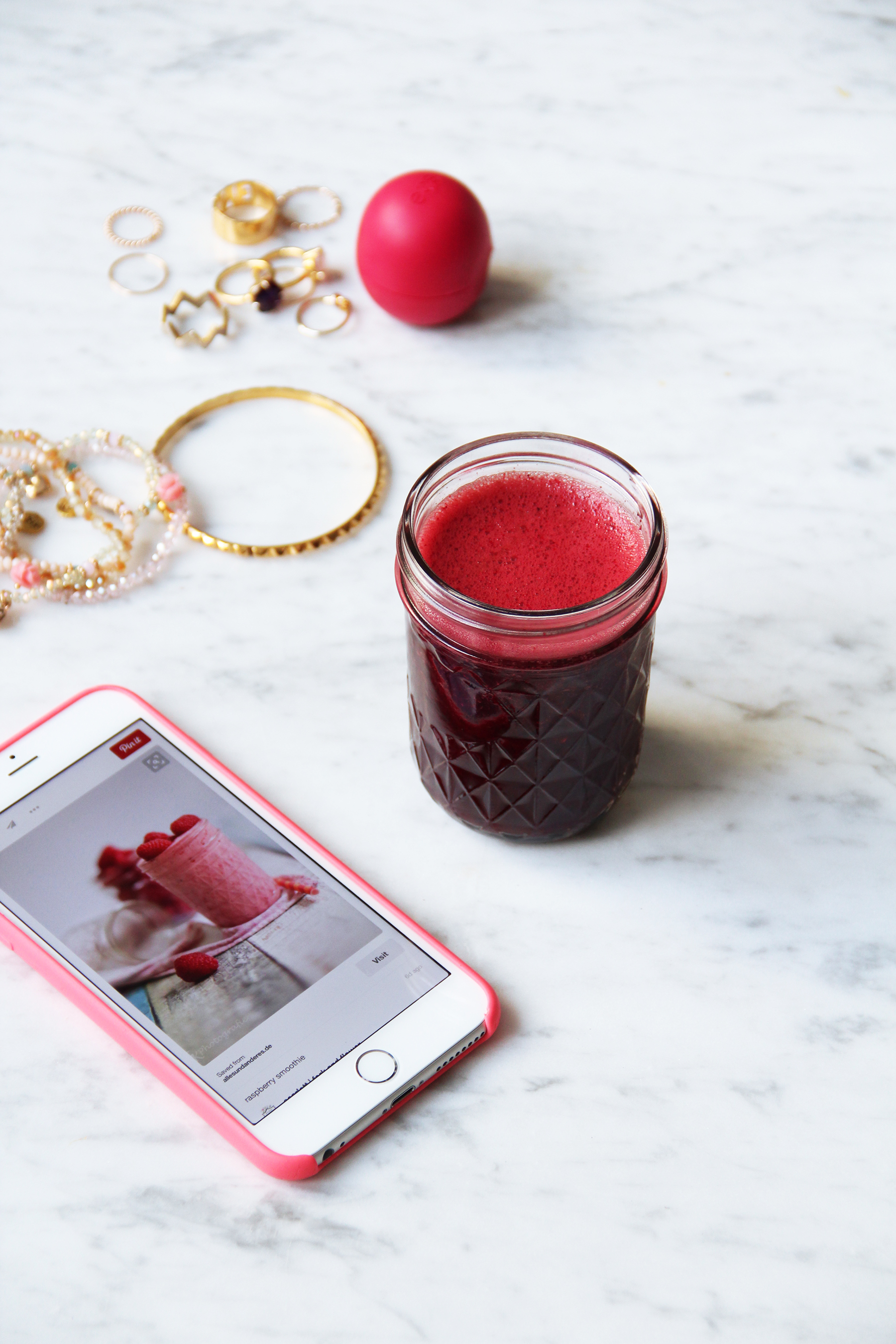 red beet juice with kale