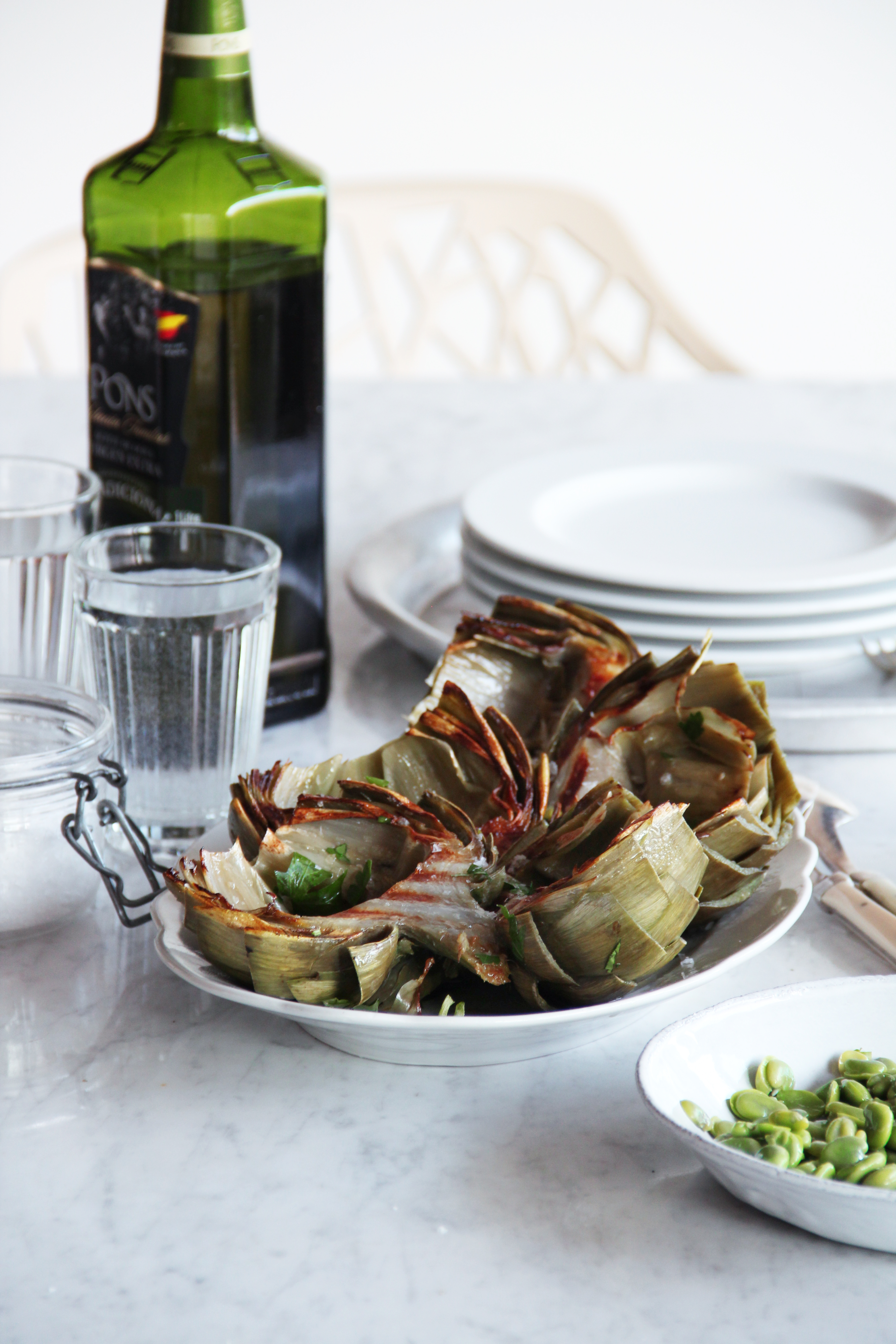 Grilled Artichokes 14