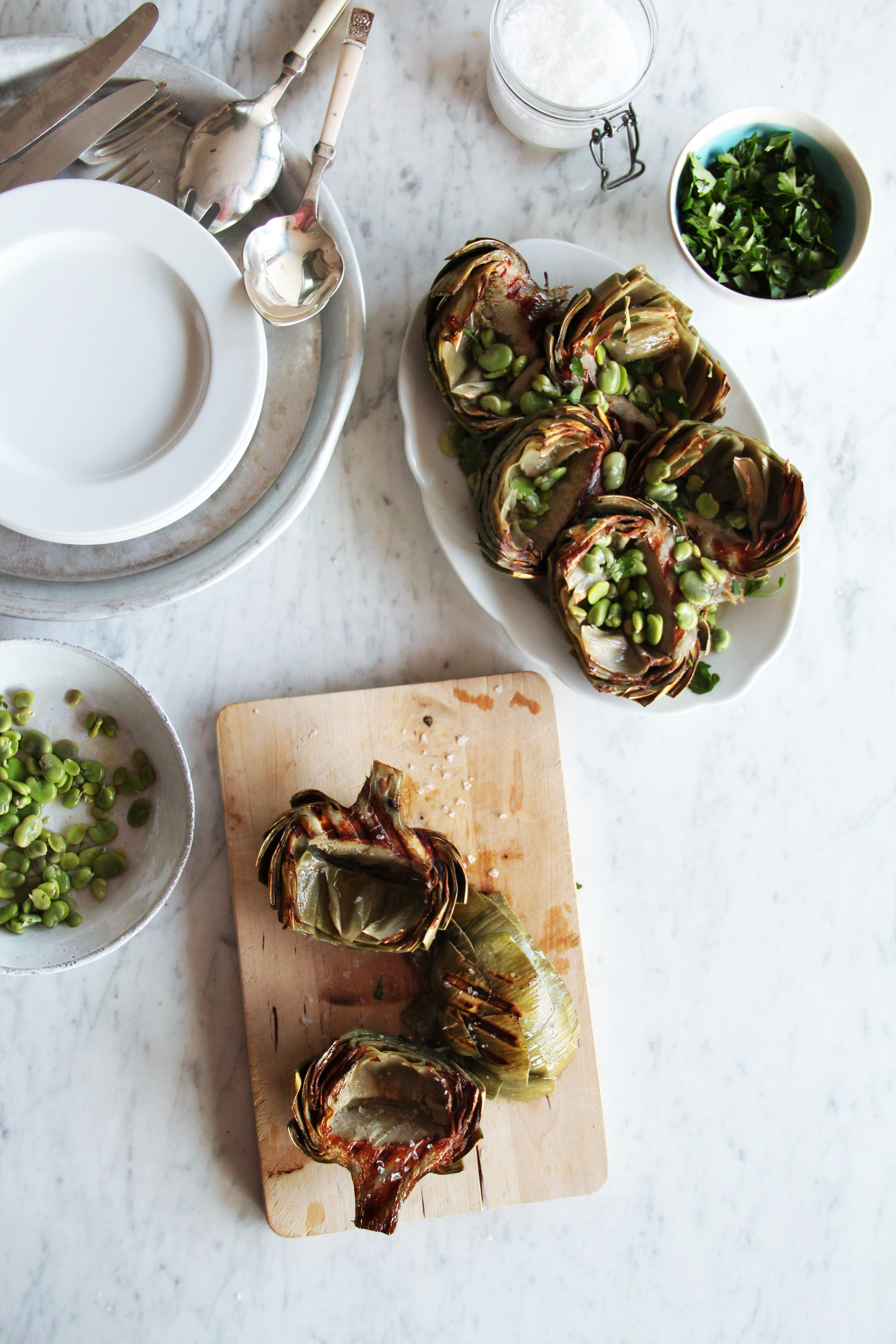 Grilled Artichokes 3