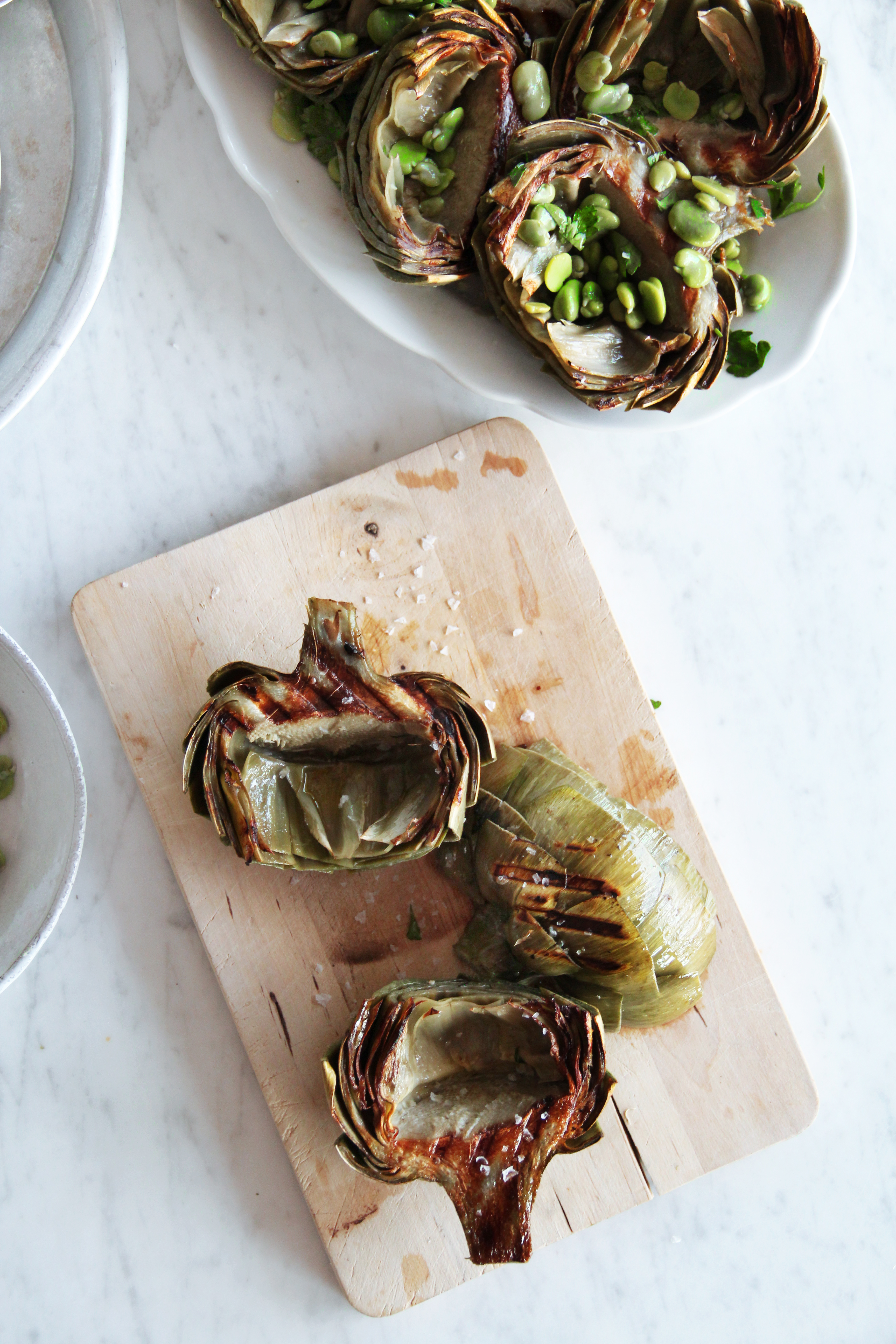 Grilled Artichokes 4