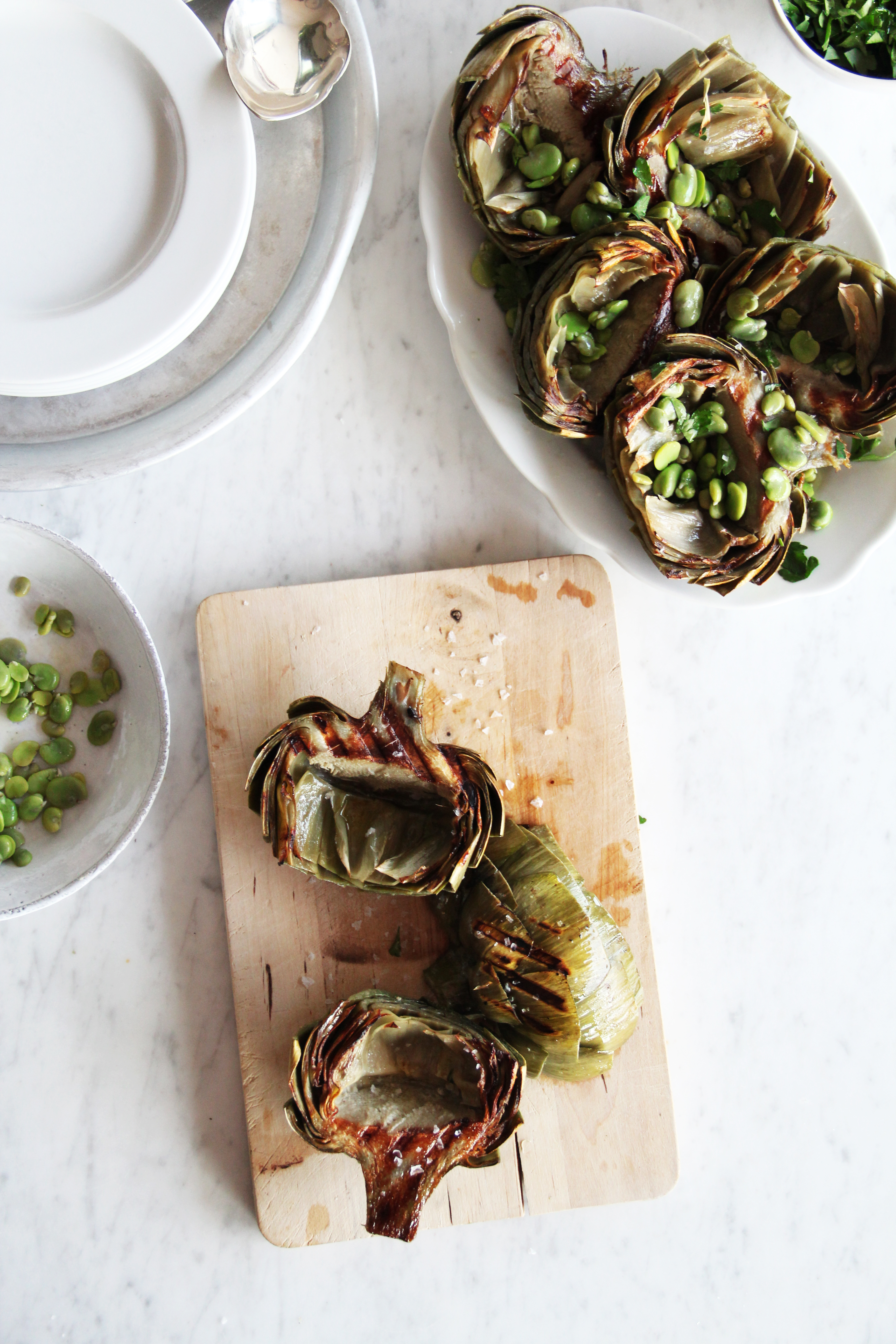 Grilled Artichokes 5