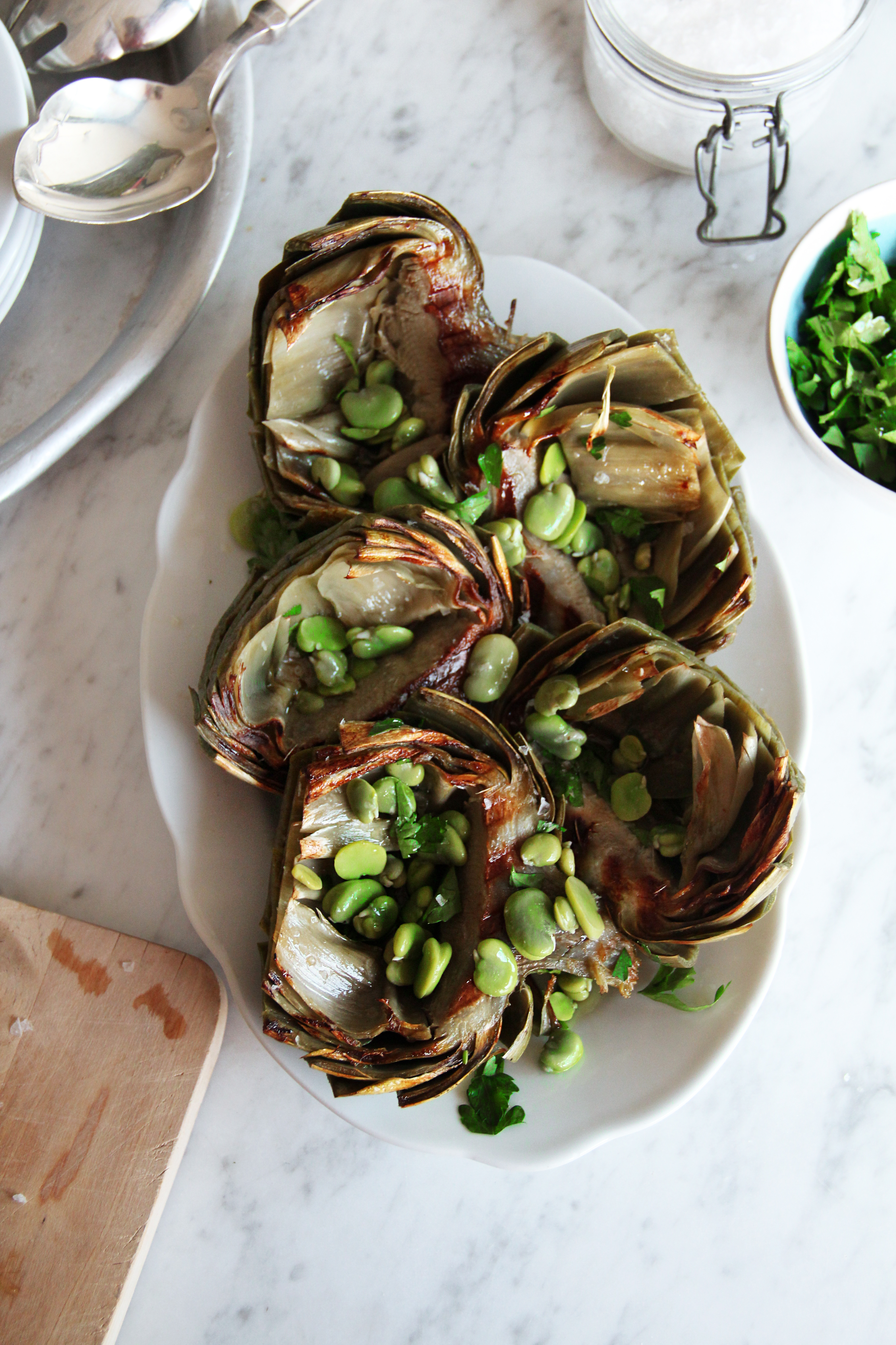 Grilled Artichokes 6