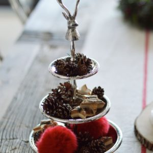 Christmas Decor & Cranberry Sauce Porridge