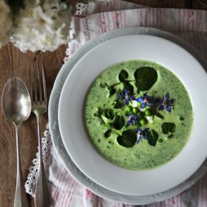Springlike Watercress Soup