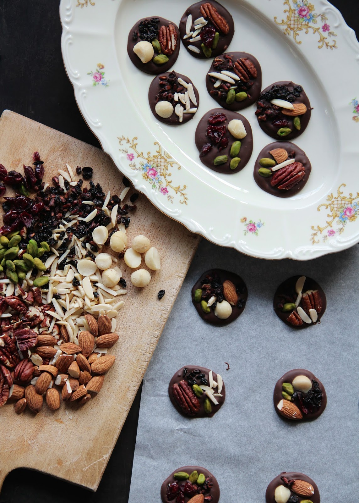Superfood Dark Chocolate Nibbles