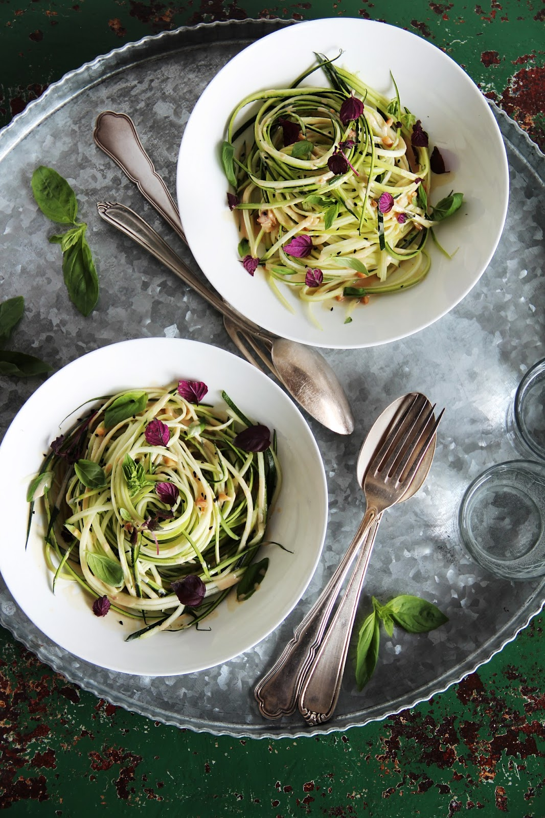 "Zucchini Noodles – ""Zoodles"" – With Coconut Sauce"