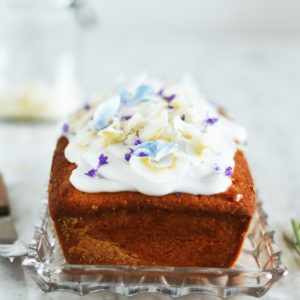 Simple & Quick Coconut Loaf