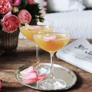 elsewhere Cocktail Hour: Peaches & Roses Bellini
