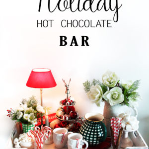 Hot Chocolate Bar & Giveaway (closed)