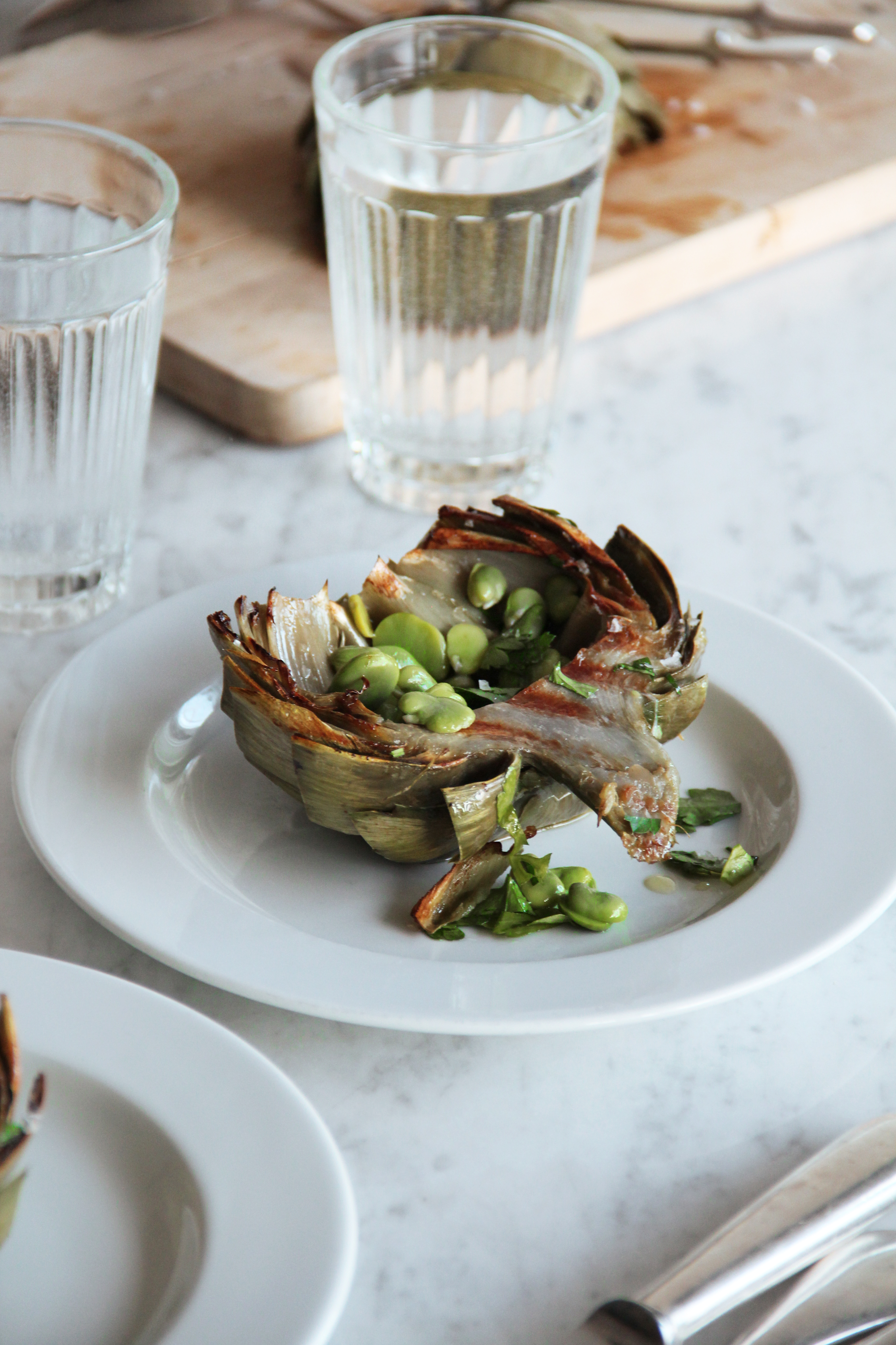 Grilled Artichokes 13