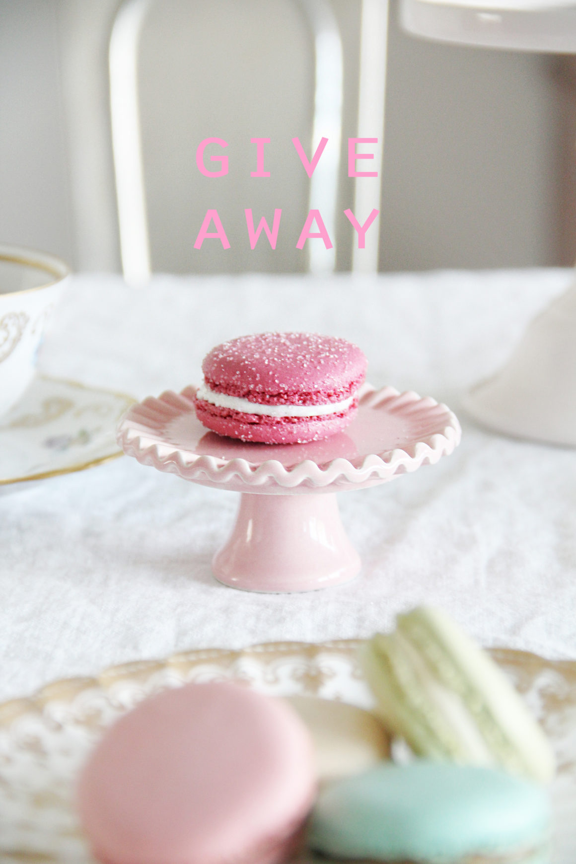 Roses, Macarons, Bling… and a Give Away