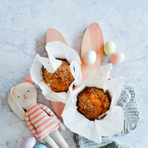 Flower Pot Carrot Bread